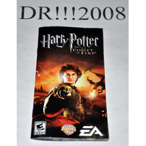 Manual Do Game Harry Potter P/ Psp!!!