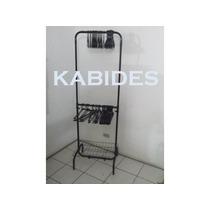 Arara 2 Niveis 60cm Mini Closet Com Cabides E Sapateira