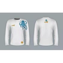 Camisa Manga Longa Proteção Solar Wheke Uv Protection Fps50+
