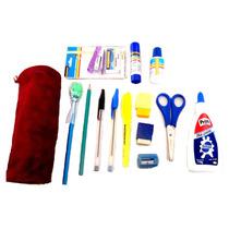 Kit De Material Escolar Masterprint - 14 Itens Frete Grátis