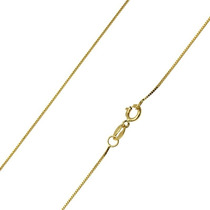 Monreale Corrente Cordão Colar Em Ouro 18k Maciço Veneziana
