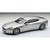 Miniatura Aston Martin Rapide Prata 1:18 Autoart 70217