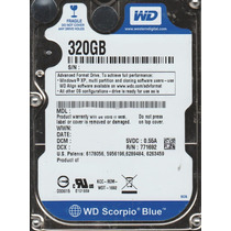 Hd 320gb Notebook Sata 2 Wd Garantia Nota Fiscal