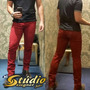 Calça Coloridas Skinny Hot Color Studio Designer Jeans