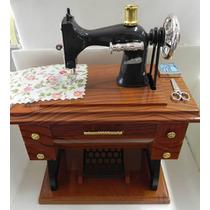 Miniatura Máquina De Costura Singer Antiga