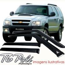 Calha Defletor De Chuva Blazer 95/11 4 Portas - Tg Poli
