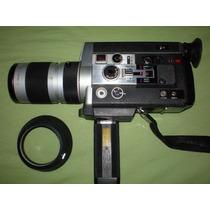 Camera Filmadora Canon Super 8 1014 Autozoom 8mm P/ Colecao