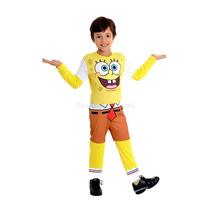Fantasia Bob Esponja Infantil Longa Sulamericana