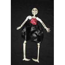 * Boneca Articulada De Esqueleto - Caveira Cranio Bruxas 9h3