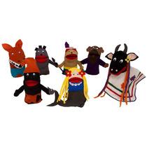 Fantoches Folclore Nina Brinquedos Educativos