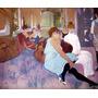 Salão De Beleza Fazer Unha Cabelo Pintor Lautrec Tela Repro
