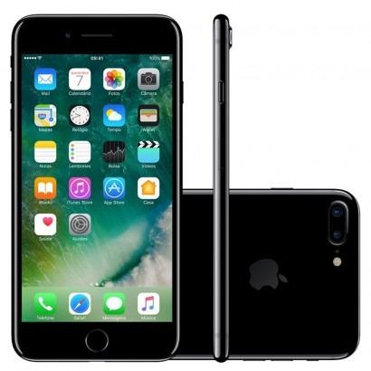 Smartphone Iphone 7 Plus 128gb Preto Brilhante Apple Lacrado