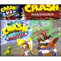 Crash Bandicoot 1,2,3 + Crash Team Racing Ps3 Jogos Psn
