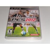 Pes 2012 - Pro Evolution Soccer 2012 Ps3 - Novo/lacrado