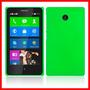 produto Case Capa Rígida Verde Nokia X Ou X+ Fosca Frete Grátis Br