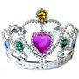 Coroa Princesa Infantil - Pacote Com 12 Unidades