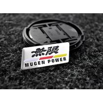 Emblema Honda Mugen Power Civic Crv Si City Coluna Painel
