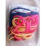 Kit 6 Cadarços Coloridos Para Bota De Cano Alto - R$30