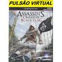 Box Assassins Creed 4 Blackflag Signature Português Xbox360