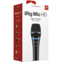 Microfone Condensador Ik Multimedia Irig Mic Hd Iphone Ipad