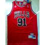 Camisa Nba Bulls Dennis Rodman #91 - Frete Grátis - 21sports