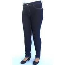 Calça Cintura Alta Skinny Biotipo 19179 Kalbatt Jeans