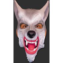 Máscara Animal Lobo / Cachorro - Terror Carnaval Halloween