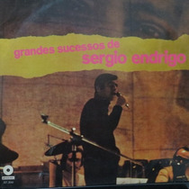 Lp Sergio Endrigo - Grandes Sucessos - Vinil Raro