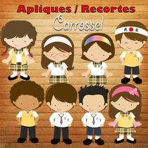 Aplique / Recorte - Carrossel