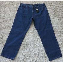 Calça Jeans Básica Masculino Frilley - 100% Algodão - Tam 62