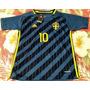 Camisa Seleção Suécia Azul - Ibrahimovic 10 Eurocopa 2016