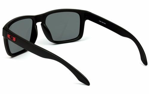 Oculos Oakley Holbrook 009102l-36 Matte Black L .red Iridium. Preço  R  399  Veja MercadoLibre b96c48147b