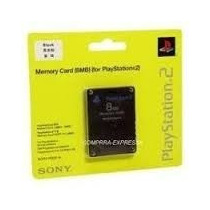 Memory Card Ps2 Original 8mb Sony Lacrado A Pronta Entrega