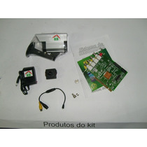 Kit Cftv 01 Placa Captura 16ch +01 Mini Câmera Color