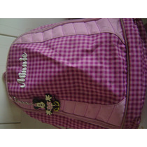 Mochila - Minnie - Disney - Made In China - Pouco Uso