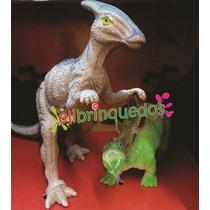 Dinossauro Animal World Rex E Triceratops, Herbívoros Buba