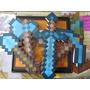 Kit 4 Ferramentas Minecraft (espada, Picareta E Pá)