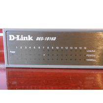 Switch D-link 16 Portas Des-1016d 10/100 Mbps