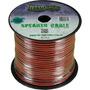 Fio Paralelo Technoise 2x0,50mm Preto E Vermelho Rolo 100 Mt