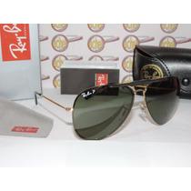 Armação Oculos De Grau E Sol Rb8571 Clip On Polarizado Gold