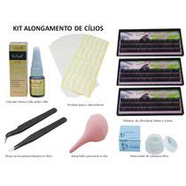 Kit Para Alongamento De Cílios Fio A Fio Naturais