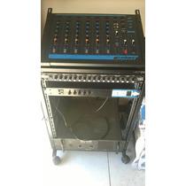 Mesa De Som, Amplificador, Alto Falante, Crossouver, Rack,