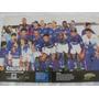 Poster Placar Cruzeiro 41x27 Campeão Mineiro 1997