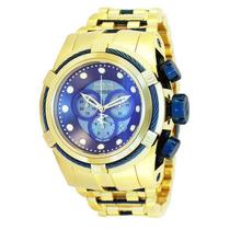 Relógio Invicta Bolt Zeus 12742 Azul Swiss Original Na Caixa