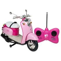 Moto Glamour Da Barbie C/ Controle Remoto 7 Funções Candide