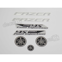 Kit Adesivos Yamaha Fazer 250 2012 Todas Cores - Decalx