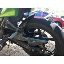 Paralamas Traseiro Capa Corrente Fibra De Carbono Ninja 250r