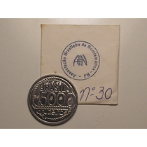Moeda 5.000 - 1992 Cr$ Nº 30 Leilão Especial Abn - 1993