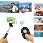 Controle Remoto Bluetooth + Monopod + Adap. Celular - Selfie