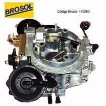 Carburador 2e Fd / Vw Alcool 1.8 Brosol - 170564